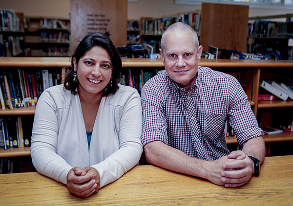 Co-Founders, Charu Chaturvedi and Paul May