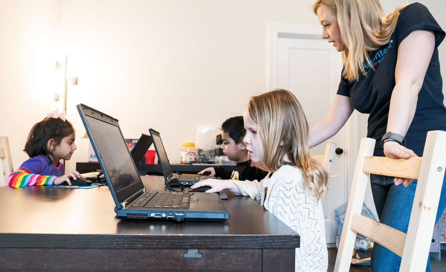 When should kids start coding?