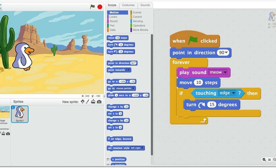 Kids Coding with Scratch