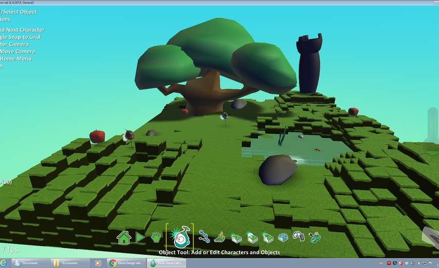 Kodu project example